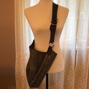 Boho Cross Body Leather Bag
